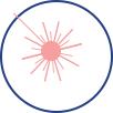 Импульсное инфракрасное светодиодное излучение
